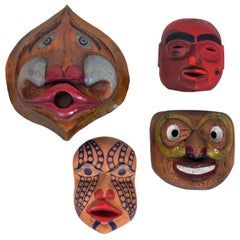 Selection of Pacific Northwest Masks by Bill Bouchard