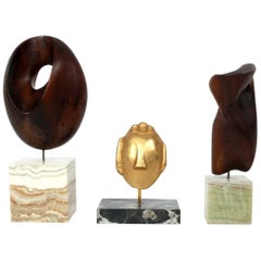 Selection of Petite Modernist Sculptures
