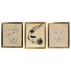 Selection of Prints by Henri Matisse and Marc Chagall