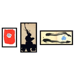 Selection of Robert Motherwell Lithographs