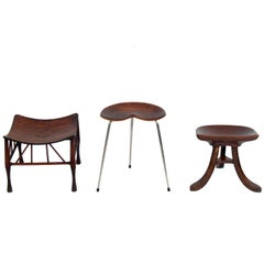 Selection of Sculptural Stools
