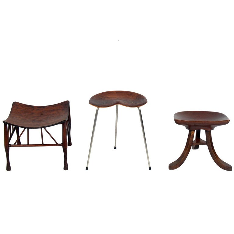 Selection of Sculptural Stools For Sale