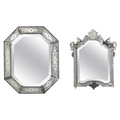Selection of Small Venetian Mirrors