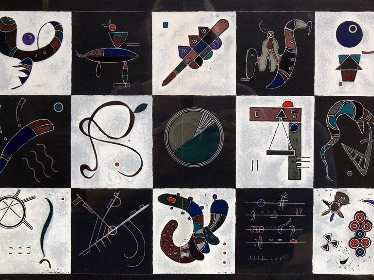 Mid-Century Modern Selection of Wassily Kandinsky Lithographs For Sale