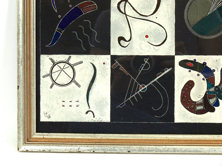 European Selection of Wassily Kandinsky Lithographs For Sale