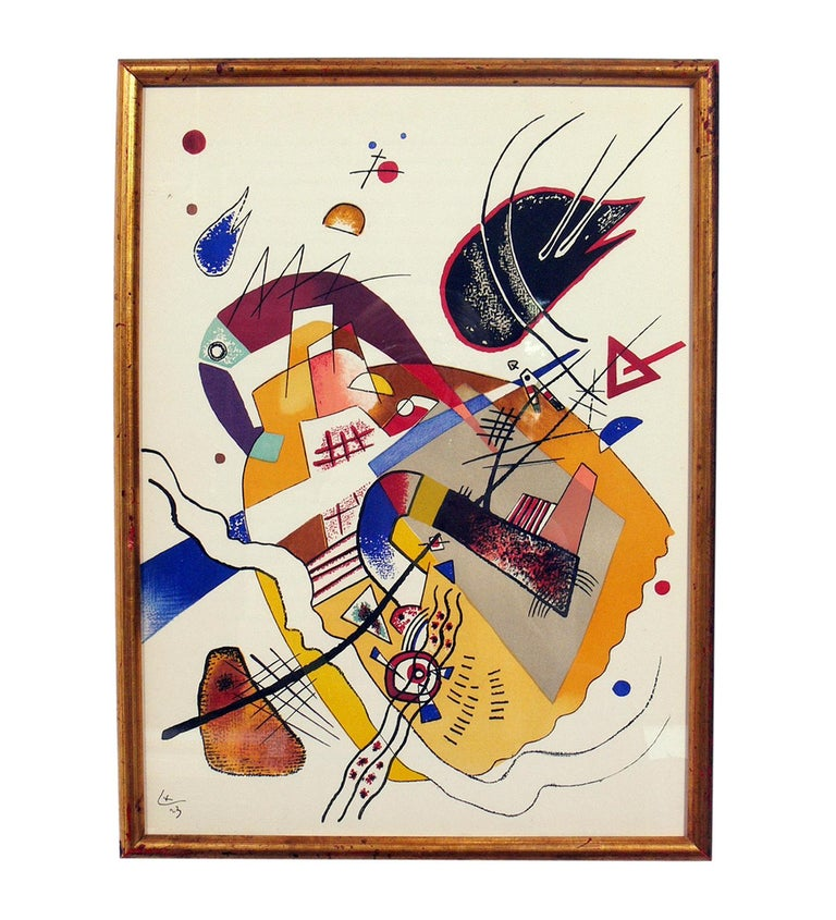 Selection of Wassily Kandinsky Lithographs In Good Condition For Sale In Atlanta, GA