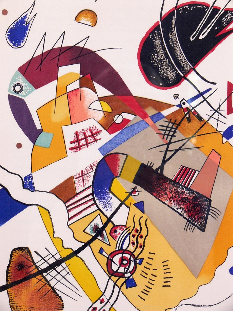 Mid-20th Century Selection of Wassily Kandinsky Lithographs For Sale