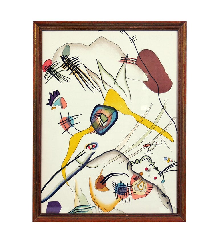 Selection of Wassily Kandinsky Lithographs For Sale 1