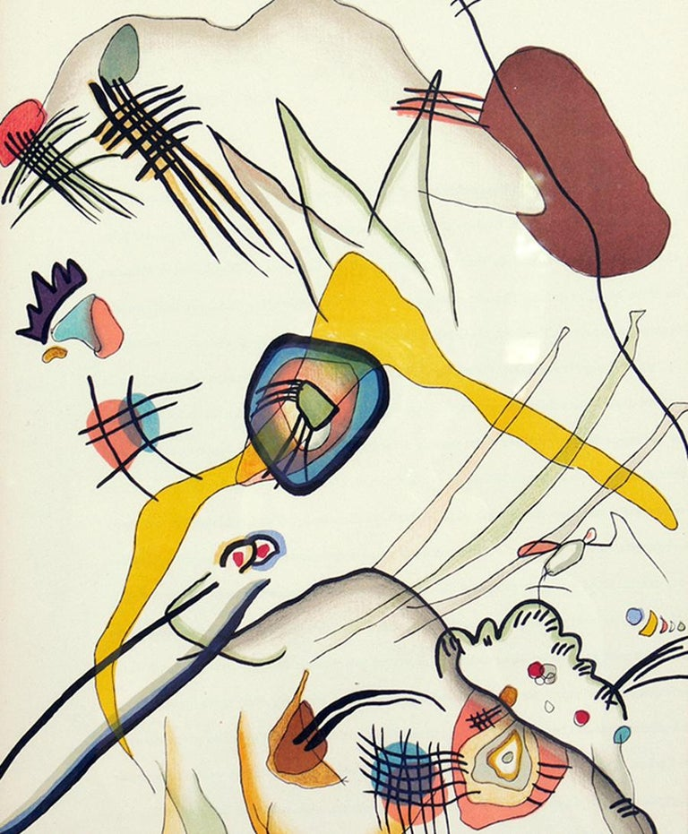 Selection of Wassily Kandinsky Lithographs For Sale 2