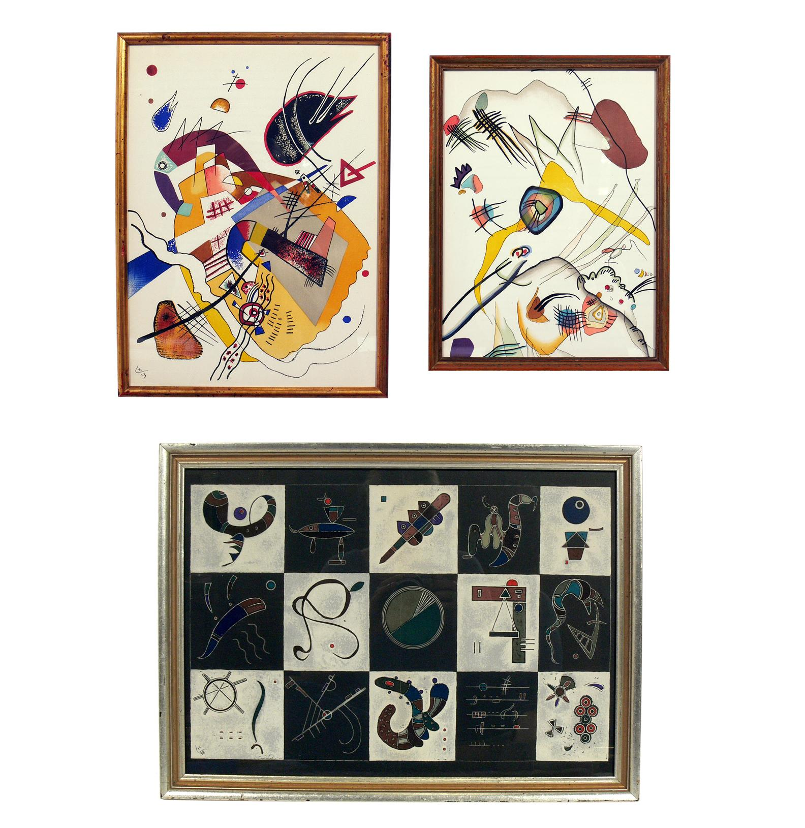 Selection of Wassily Kandinsky Lithographs