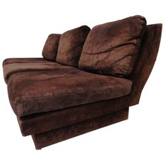 Selection of Willy Rizzo sofas available, we can restore,choose your own fabric.