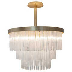 "Selenite ""Grand Casablanca"" Chandelier, Marcele Muraro"