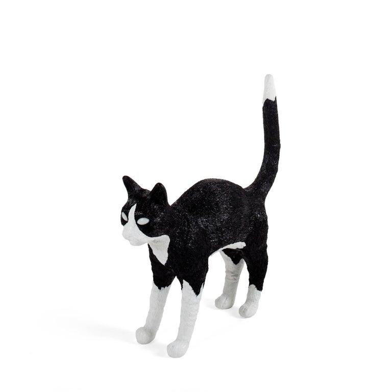 Seletti Quot Cat Lamp Jobby Quot Resin Lamp Black White For Sale