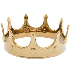 """Seletti """"Limited Gold Edition"""" Porcelain My Crown"""