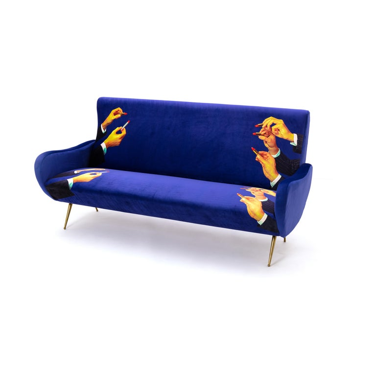 Seletti Quot Lipsticks Quot Upholstered Three Seat Sofa By