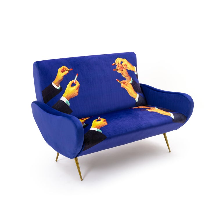 Seletti Quot Lipsticks Quot Upholstered Two Seat Sofa By