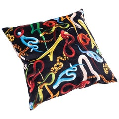 "Seletti ""Snakes"" Polyester Cushion by Toiletpaper - 1stdibs New York"