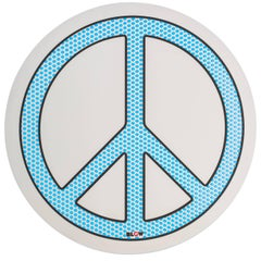 "Seletti Round Mirror ""Blow"", Peace"