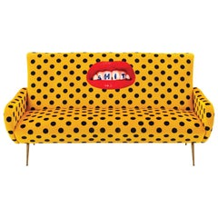 """Seletti """"Shit"""" Upholstered Three-Seat Sofa by Toiletpaper"""