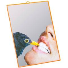 "Seletti ""Toiletpaper"" Mirror, Blackbird"