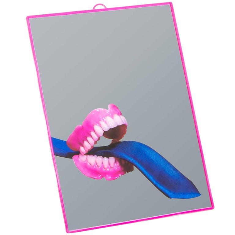 """Seletti """"Toiletpaper"""" Mirror, Tie"""