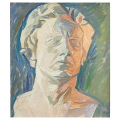 Self-Portrait by the Artist Edvard Weie