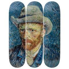 Self-Portrait Skateboard Decks after Vincent van Gogh