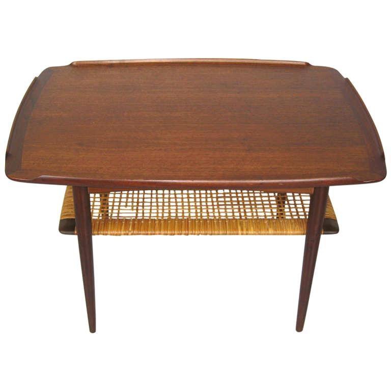 Selig End Table by Poul Jensen for Selig, Denmark Danish Modern