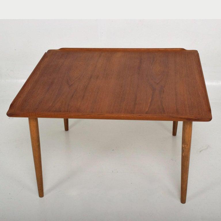 Selig Danish Modern Teak Coffee Table For Sale at 1stdibs