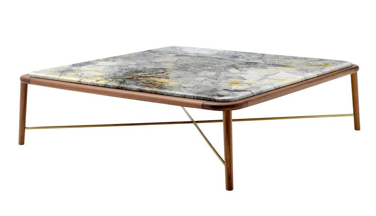 Seline Large Square Coffee Table By Ulivi Salotti For Sale At 1stdibs