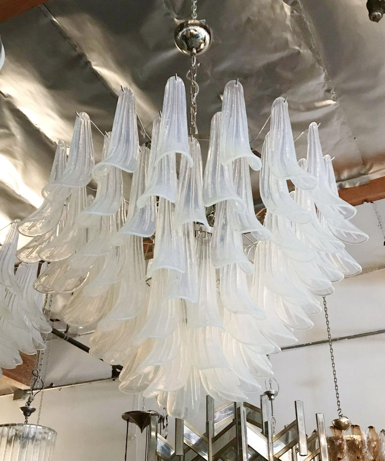 Italian Selle Chandelier by Fabio Ltd For Sale