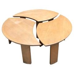 Selz / Pierre Chapo table Massive Elm Table, 1978