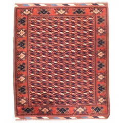 Semi Antique Handmade Afghani Afghanestan Rug