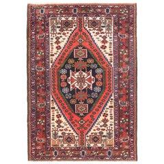 Semi Antique Handmade Bakhtiari Persian Rug