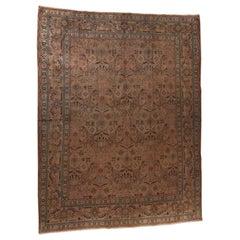 Semi Antique Persian Art Nouveau Tabriz Rug