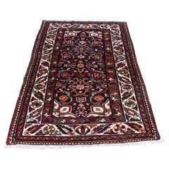 Semi Antique Persian Bakhtiari Pure Wool Hand Knotted Oriental Rug