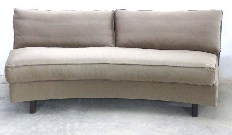 Italian  Umberto Asnago Mobilidea Semi-circular Sectional Sofa, Italy For Sale