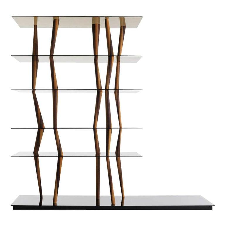 Sendai Glass Bookcase by Toyo Ito For Sale