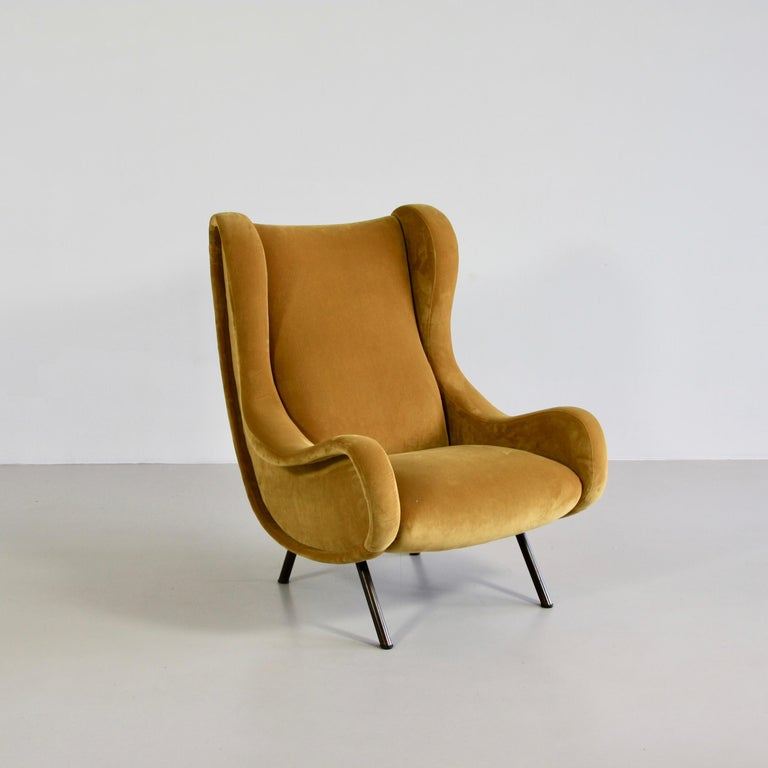 Modern Senior Armchair by Marco Zanuso, Arflex Italy For Sale