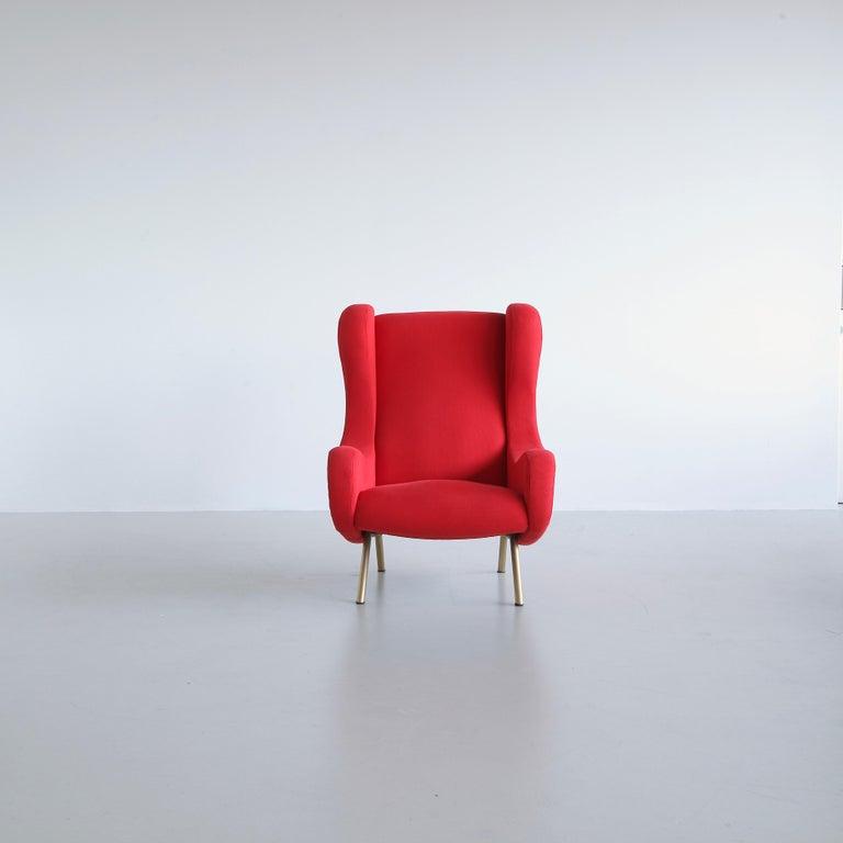 Italian Senior Armchair by Marco ZANUSO, Arflex, Italy