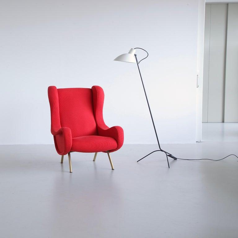Mid-20th Century Senior Armchair by Marco ZANUSO, Arflex, Italy