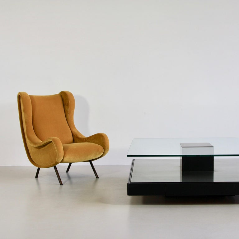 Mid-20th Century Senior Armchair by Marco Zanuso, Arflex Italy For Sale