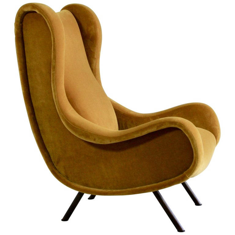 Senior Armchair by Marco Zanuso, Arflex Italy For Sale