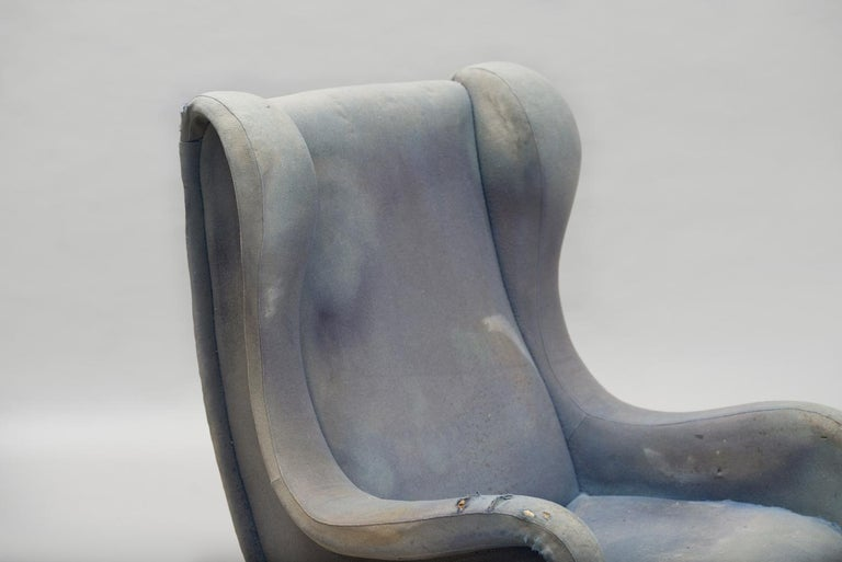 Mid-20th Century Senior Armchair by Marco Zanuso for Arflex Early Edition For Sale