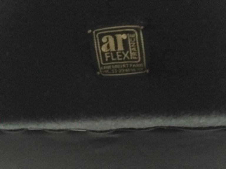 Brass Senior Sofa by Marco Zanuso for Arflex For Sale