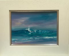 Time To Head Home - Contemporary Seascape Painting by Senja Brendon