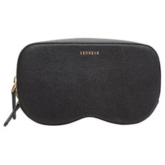 Senreve Black Pebbled Leather Coda Belt Bag