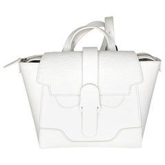 Senreve Mini Maestra White Crossbody Backpack