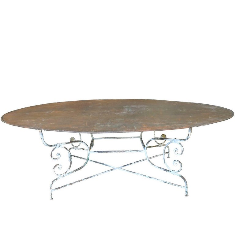 Sensational Garden Table in Iron