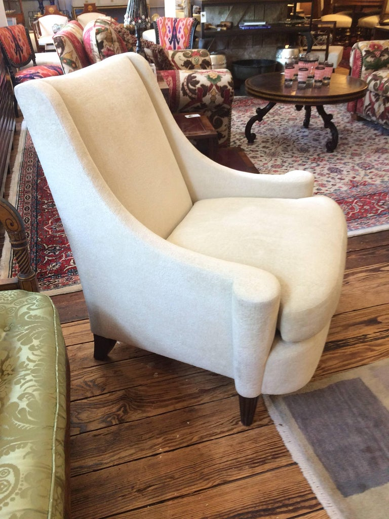Contemporary Sensationally Stylish Joan Armchair by Barbara Barry For Sale